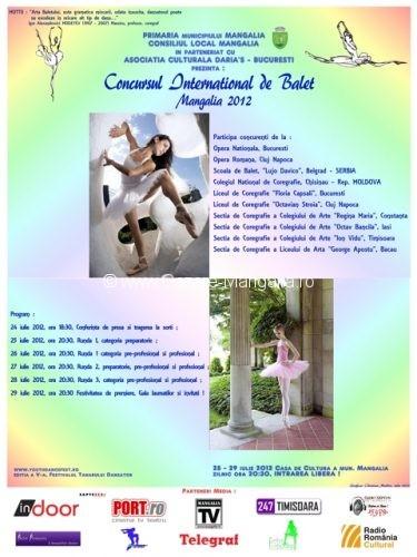 """Festivalul Tanarului Dansator – Mangalia Romania 2012"""" la cea de-a V-a editie"""