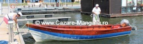 Partide de pescuit cu barca la mangalia